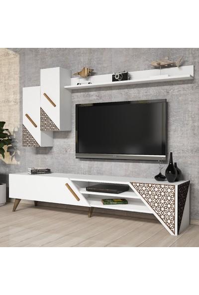 Varinat Beril TV Ünitesi - Beyaz