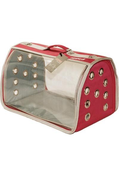 Lepus Şeffaf Flybag Kedi Köpek Taşıma Çantası 25*25*40 Cm