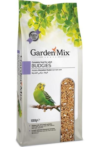 Garden Mix Platin Seri Muhabbet Kuşu Yemi 1 Kg