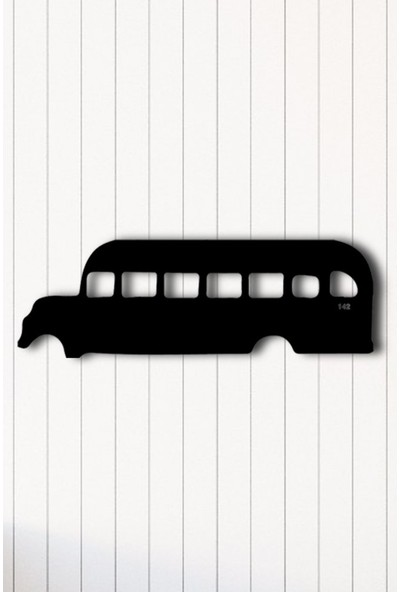 Angemiel Home Otobüs Nostaljik Metal Duvar Tablosu Ev Ve Ofis Dekorasyonu Tablo