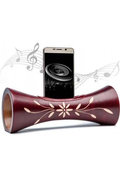 Angemiel Home Grıffe Taşınabilir El Yapımı Akıllı Telefon Hoparlör 25 Cm