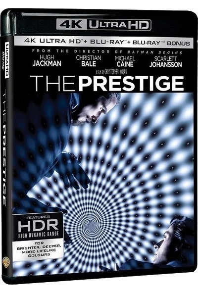 The Prestige - Prestij 4K Uhd + Blu-Ray