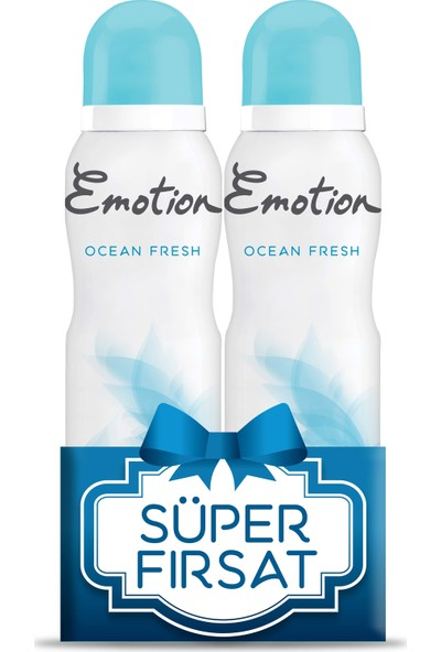 Emotion Ocean Fresh 2'li Kadın Deodorant 2X150ml