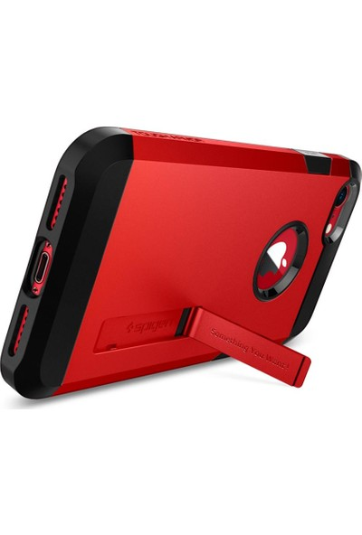 Spigen Apple iPhone 8 - iPhone 7 Kılıf Tough Armor 2 Red - 054CS24041
