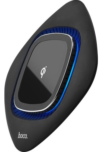 Hoco CW10 Graceful QC 3.0 9V Kablosuz Hızlı Şarj Aleti - Siyah