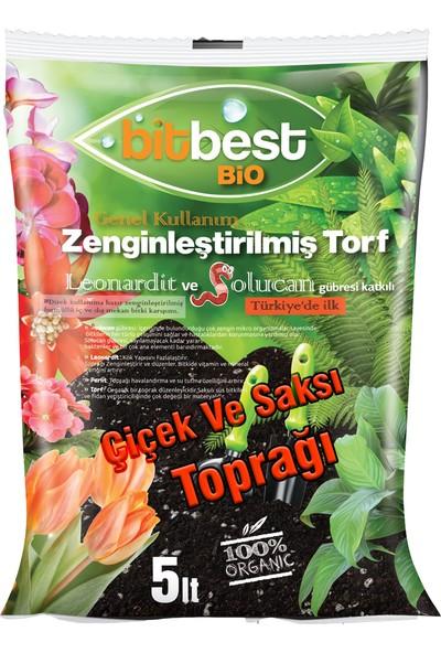Agrobit Bitbest Bio 5 Lt Bitki Ve Saksı Toprağı , Torfu Or.Gübreli 1105-1