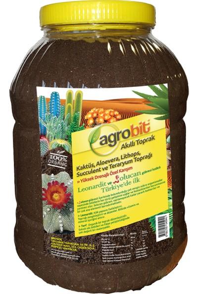 Agrobit Kaktüs Aloevera Lithops Ve Succulent Toprağı 5 Lt Kavonoz 1104-06