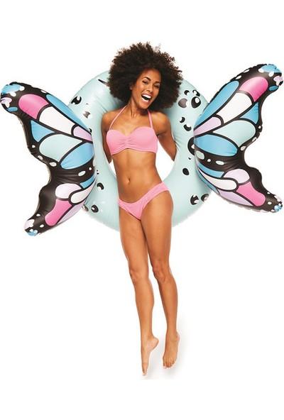 Big Mouth Butterfly Blue Deniz Yatağı Bmpf0024
