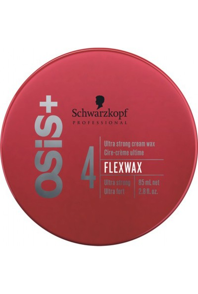Osis + Flexwax Ultra Güçlü Krem Flex Wax 85Ml -Yeni Büyük Ambalaj