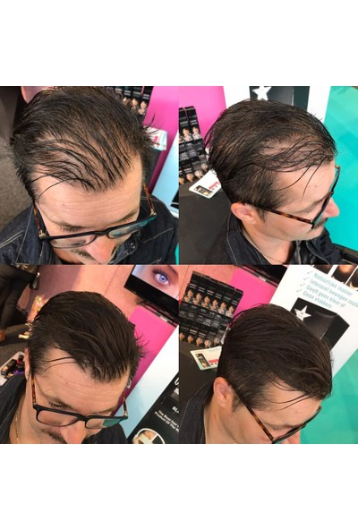 Organische Hair Building Fibers 50 gr Siyah Saç Tozu