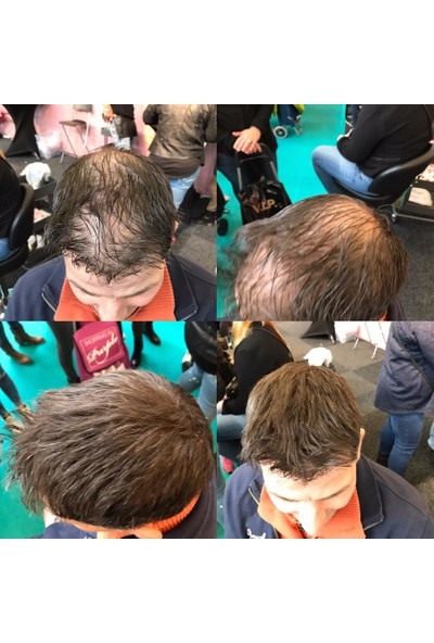 Organische Hair Building Fibers 50 gr Koyu Kahve Saç Tozu