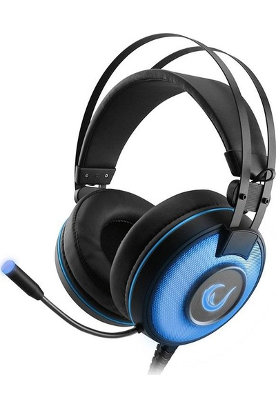 Rampage SN-RW66 Alpha-X USB 7.1 Surround Oyuncu Mikrofonlu Kulaklık Mavi