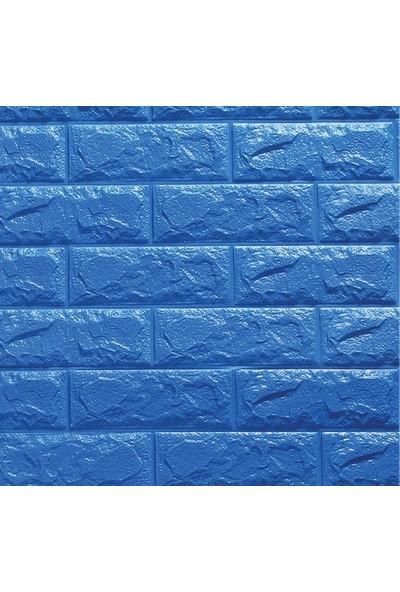 Bellagente Freewall Kendinden Yapışkanlı Esnek Yastık Duvar Paneli Mavi 70X77 Cm 8,5 Mm