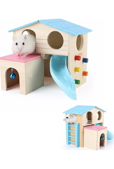 Carno Hamster Evi Ahşap No:512 18 x 15 x 15Cm