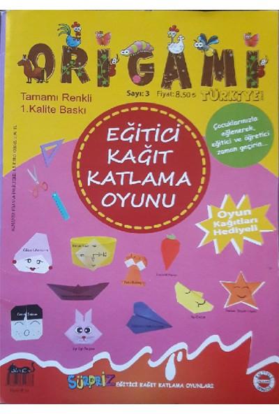Origami Türkiye Dergisi Sayı:3