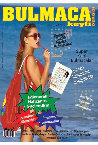 Bulmaca Keyfi Dergisi Sayı:2