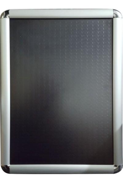 Grama x B2 Alüminyum Çerçeve 50 x 70 cm Boyutunda Rondo Köşe Açılır Kapanır 25mm