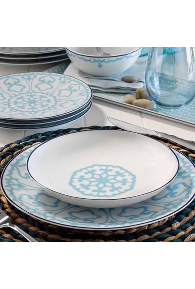 Kütahya Porselen 596614 Dekor 24 Parça Yemek Takımı