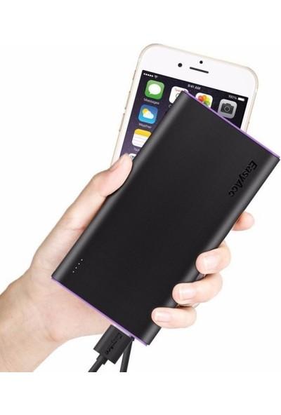 Ebox Powerbank Micro USB Kısa Kablosu 23 cm.