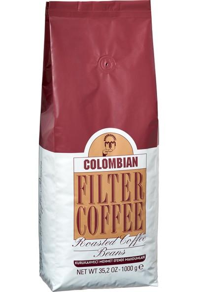 Mehmet Efendi Colombian Filtre Kahve 1000 gr (Çekirdek)
