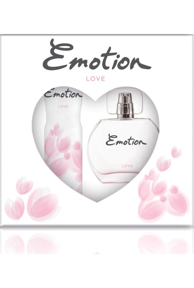 Emotion Love EDT Kadın Parfüm 50 ml & Deodorant 150 ml