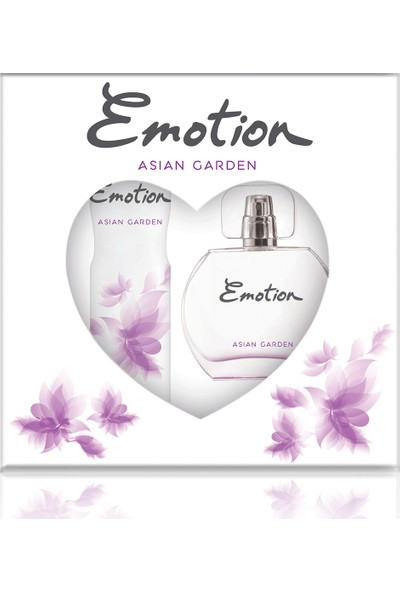 Emotion Asian Garden EDT Kadın Parfüm 50 ml & Deodorant 150 ml