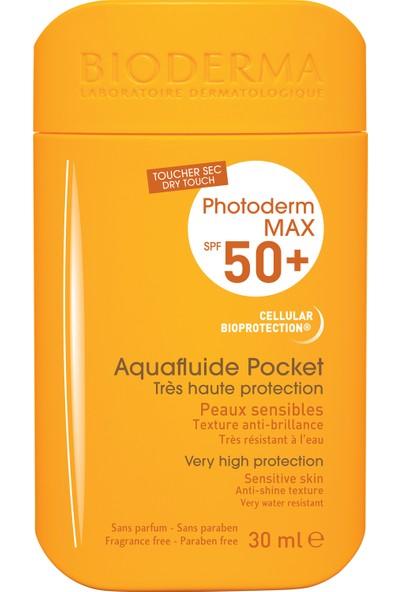 Bioderma Photoderm Max Aquafluide Pocket SPF50+ 30ml - Matlaştırıcı Etkili Çok Yüksek Güneş Koruma