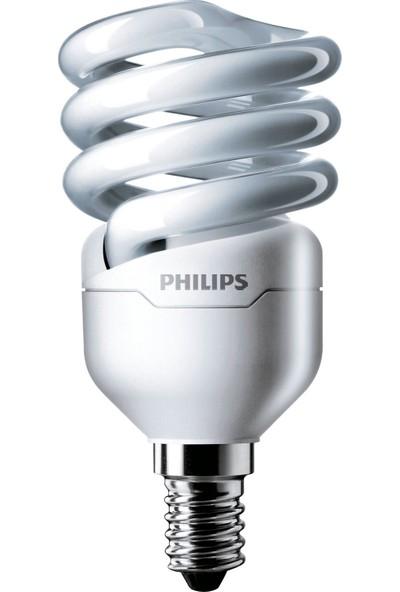 Philips EconomyTwister 12W Beyaz Işık E14 İnce Duy
