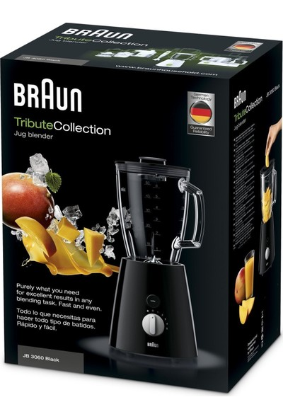 Braun JB 3060 800 Watt Buz Kırıcı Blender