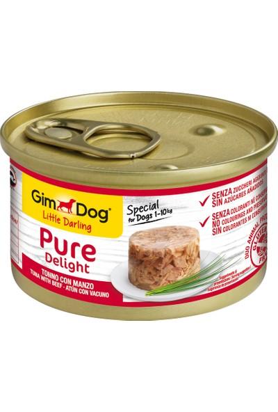 Gımdog Köpek Tuna Balıklı Biftekli Köpek Konserve 85 gr