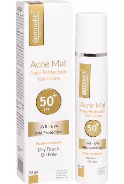 Dermoskin Acne Mat Face Protection Gel Cream Spf50