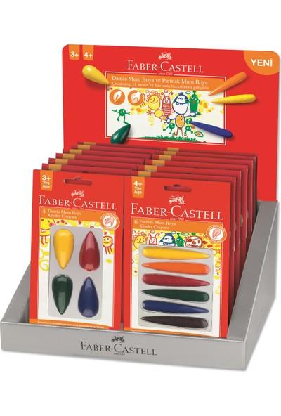 Faber-Castell Damla-Parmak Mum Boyasi Standı