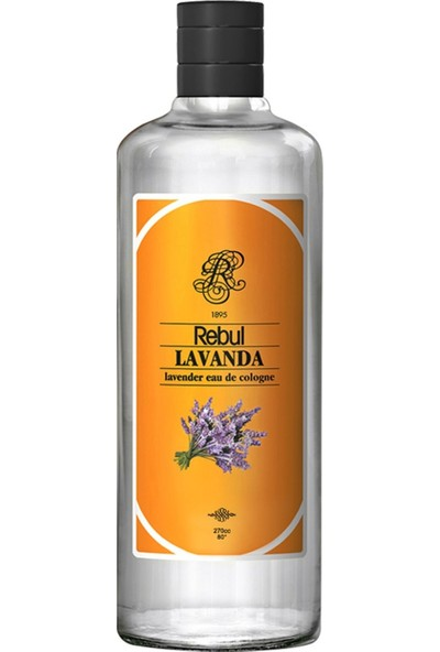 Rebul Lavanda - Lavanta Kolonyası 270 Cc (Cam Şişe)