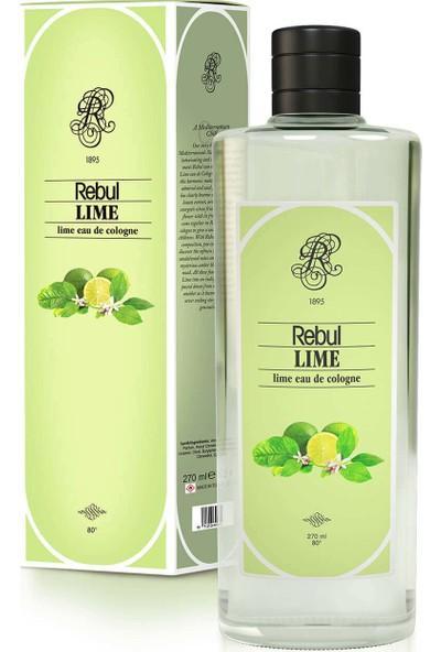 Rebul Lime - Limon Kolonyası 270 Cc (Cam Şişe)