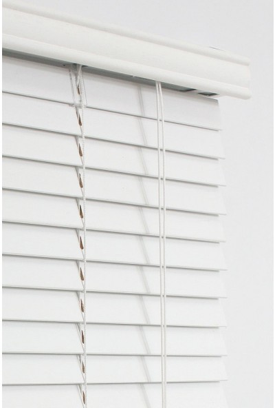 Li̇nadora Pvc Jaluzi 28 Mm Beyaz 60 x 160