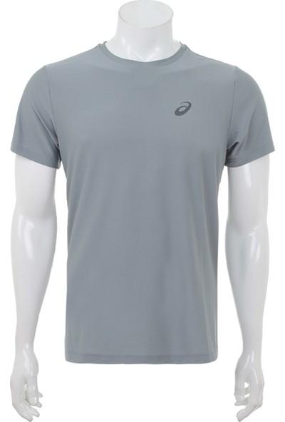 Asics AS134084 Ss Top Erkek T-Shirt Gri