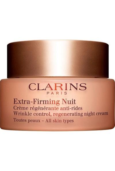 Clarins Extra Firming Night Cream 50 ml Gece Kremi Tüm Ciltler İçin