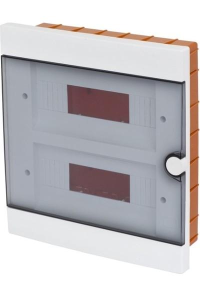 A Plus Elektrik Sigorta Kutusu 24 Lü Sıva Altı