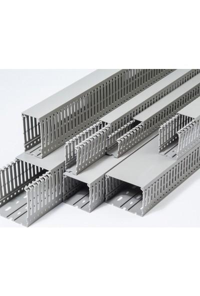 A Plus Elektrik Kablo Kanalı Pano Tipi 40x80 mm
