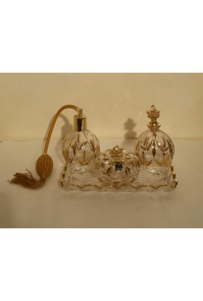 Cre-art Kristal Parfümlük Seti