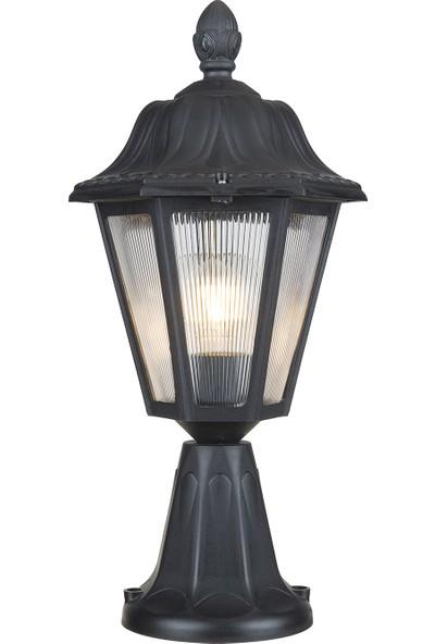 Modelight Büyük Optik Altıgen Setüstü Siyah