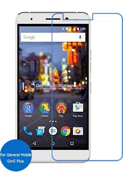 Case 4U General Mobile Gm5 Plus Cam Ekran Koruyucu