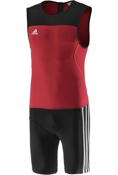 Adidas Wl ClimaLite Suit Erkek Kırmızı Halter Mayosu Z11184