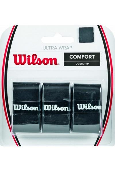 Wilson Grip Ultra Wrap Overgrip Bk 3 Pk AKSGRPWIL005