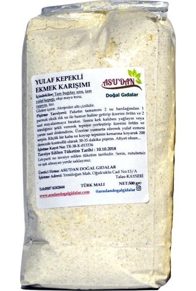 Asudan Yulaf Kepekli Ekmek Karışımı 500 gr