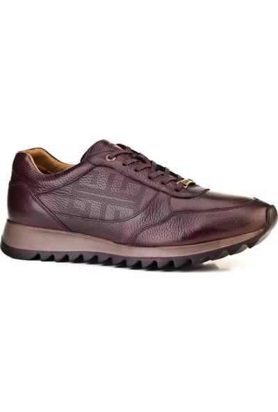 Cabani Sneaker Erkek Ayakkabı Kahve Floter Deri