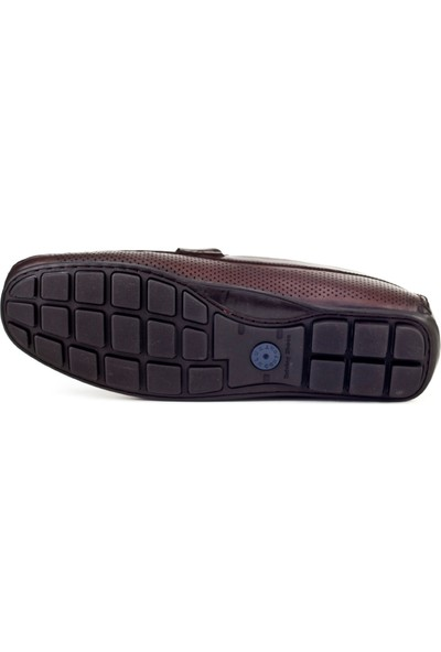 Cabani Loafer Erkek Ayakkabı Kahve Sanetta Deri