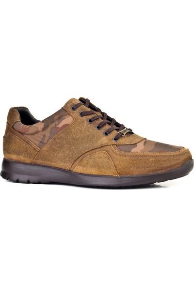 Cabani Ulltra Hafif Taban Sneaker Erkek Ayakkabı Napa Deri