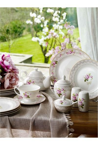 Pierre Cardin Amy 49 Parça 6 Kişilik Porselen Kahvaltı Takımı