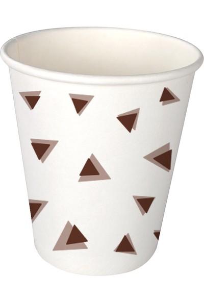 Multipak 7oz 25'li Piramit Karton Bardak